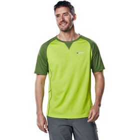 Berghaus Tech 2.0 Tee SS Crew Baselayer Men Lime Green/Kale